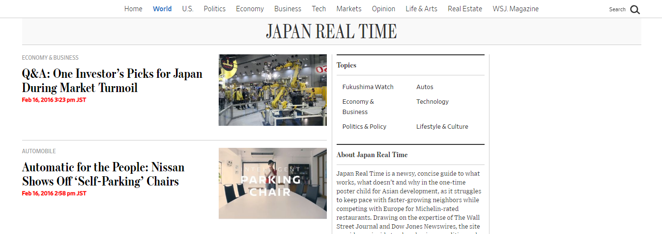 Japan Real Time