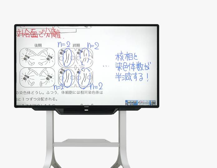 ベリタス・アカデミー電子黒板