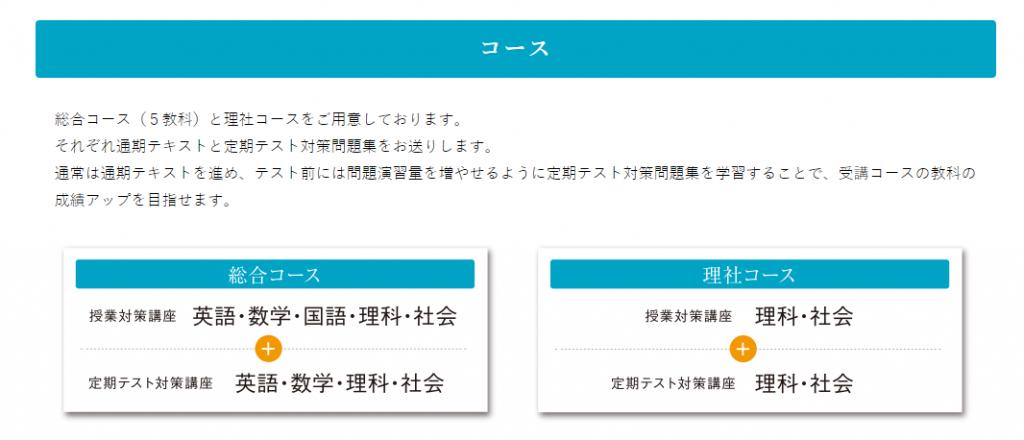 秀英id中学講座コース